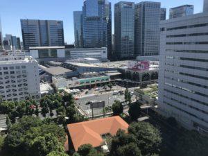 品川ホテル風景