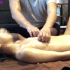 【目隠しマッサージ】手枷・足枷付けられ中イキする女子大生動画